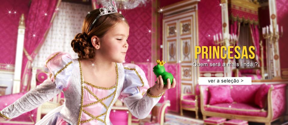 Fatos de Carnaval Princesas