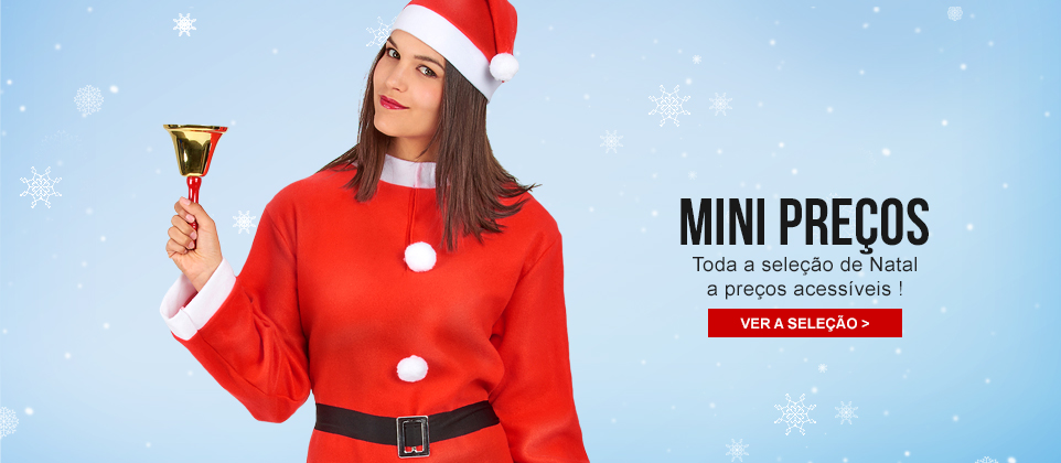 Mini preços Natal