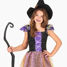 Fatos de Halloween Menina