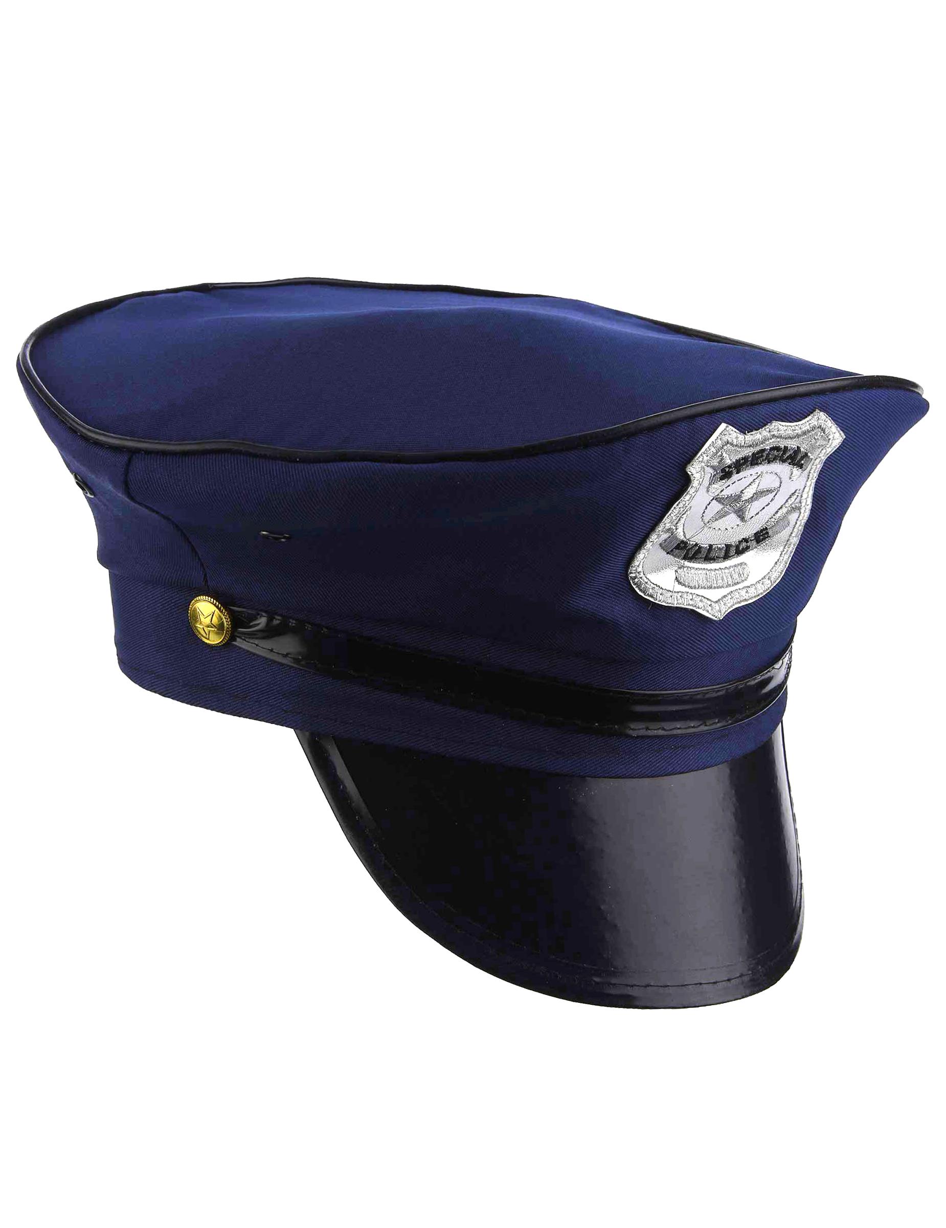 Boina de polícia para adulto 3eb2db282e5
