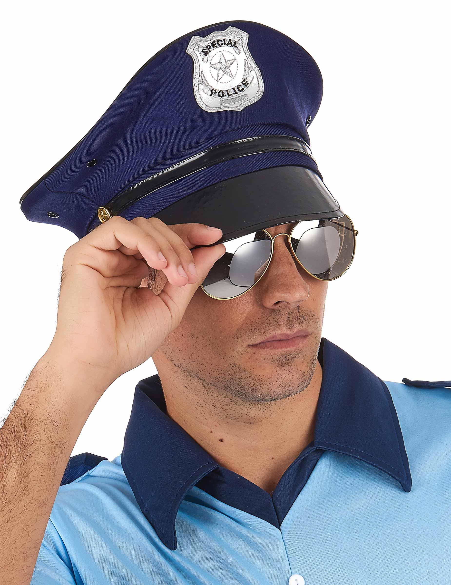Boné de polícia para adulto-1 09c68324a87
