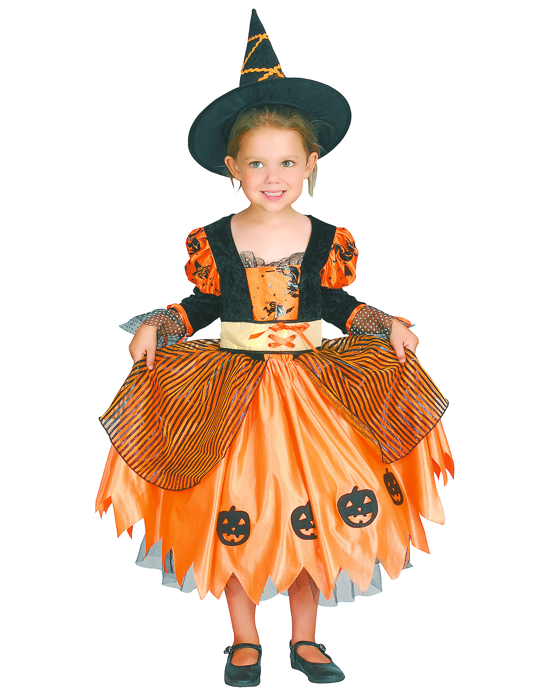 1d01b0ad5 Disfarce de bruxa rapariga Halloween  Disfarces Crianças