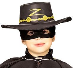 b695fe80949c2 Chapéu Zorro™ criança  Chapéus