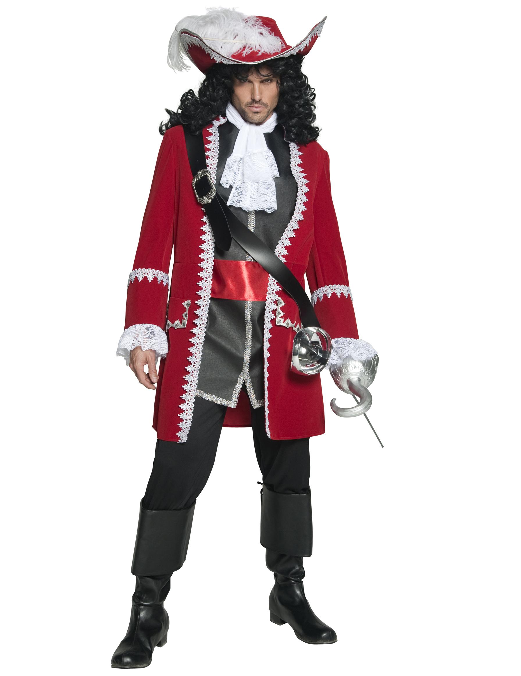 Disfarce de capitão pirata para homem: Disfarces Adultos,mas