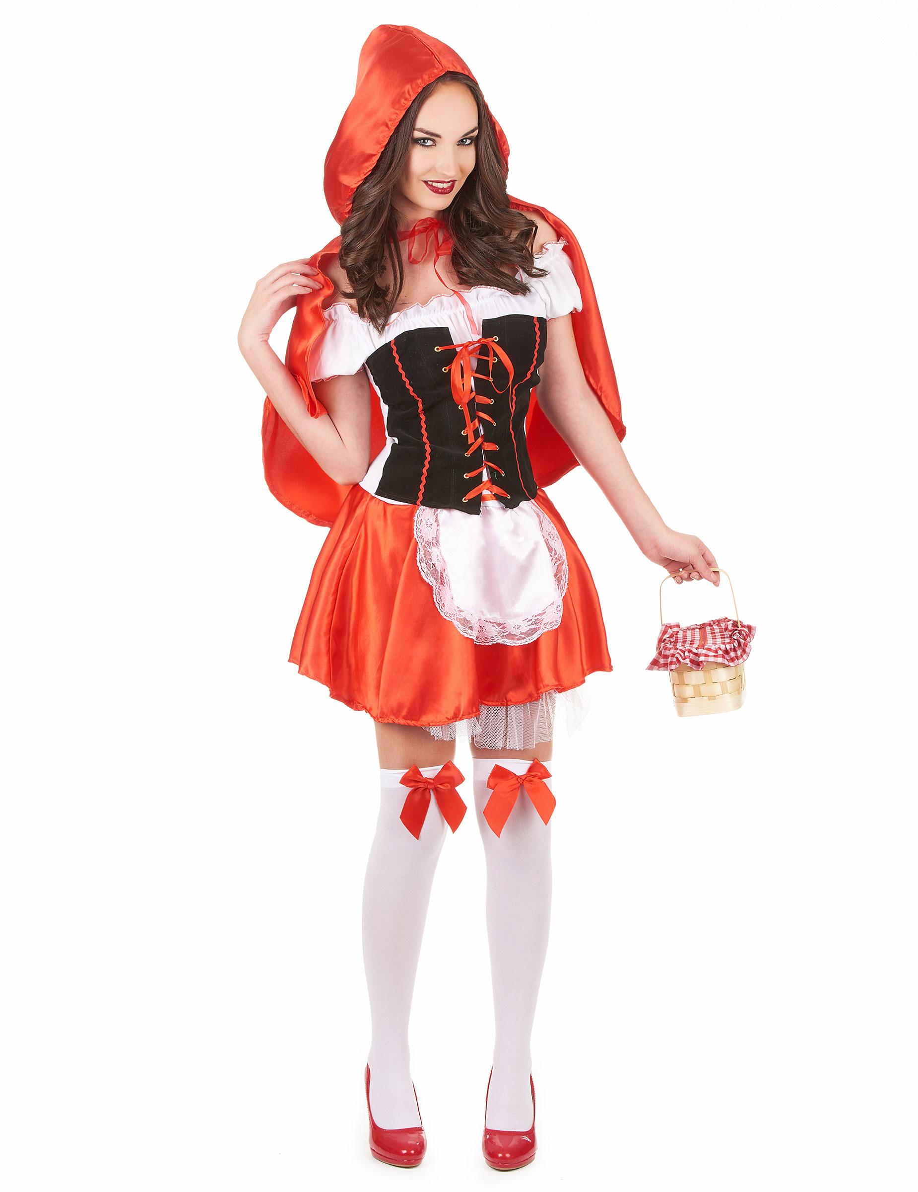 Disfarce de capuchinho vermelho para mulher disfarces - Disfraces del mundo ...