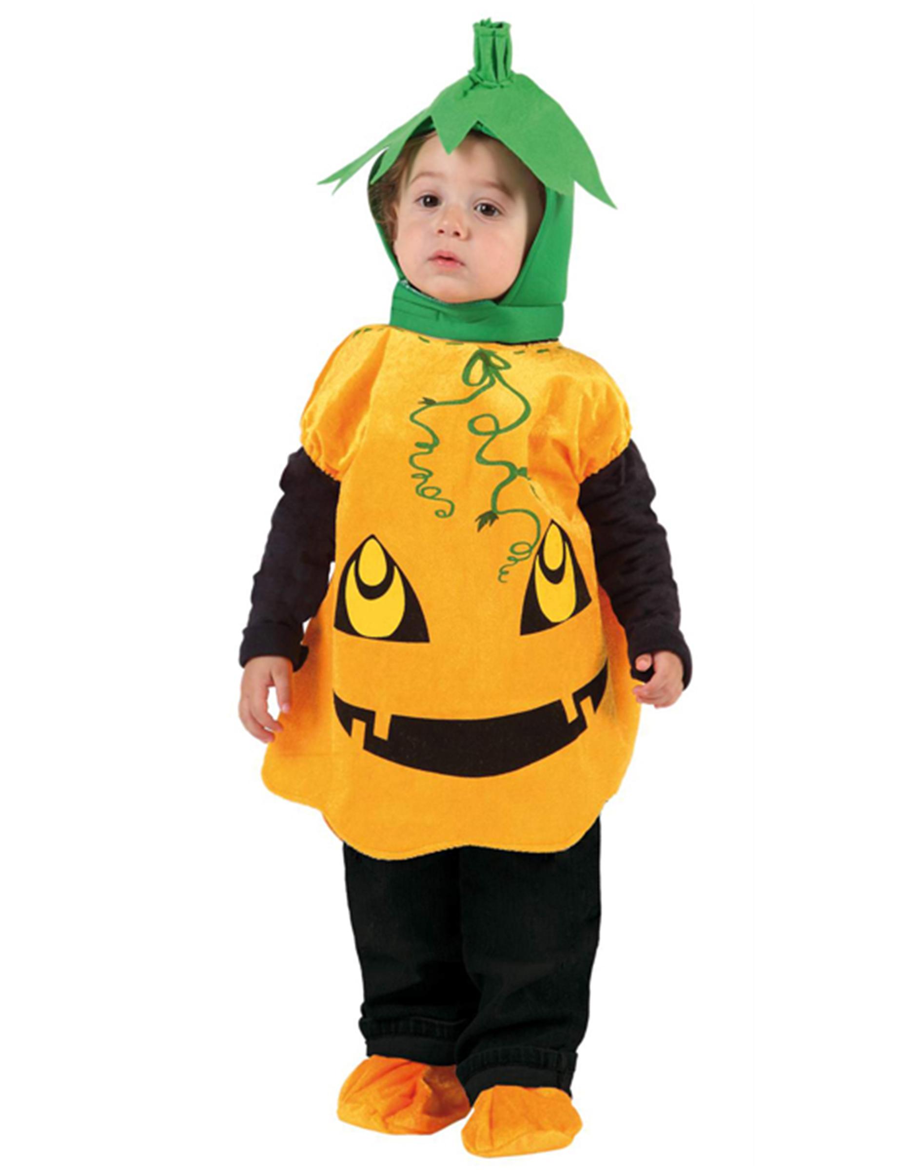 99386f2c7 Disfarce abóbora criança Halloween  Disfarces Crianças