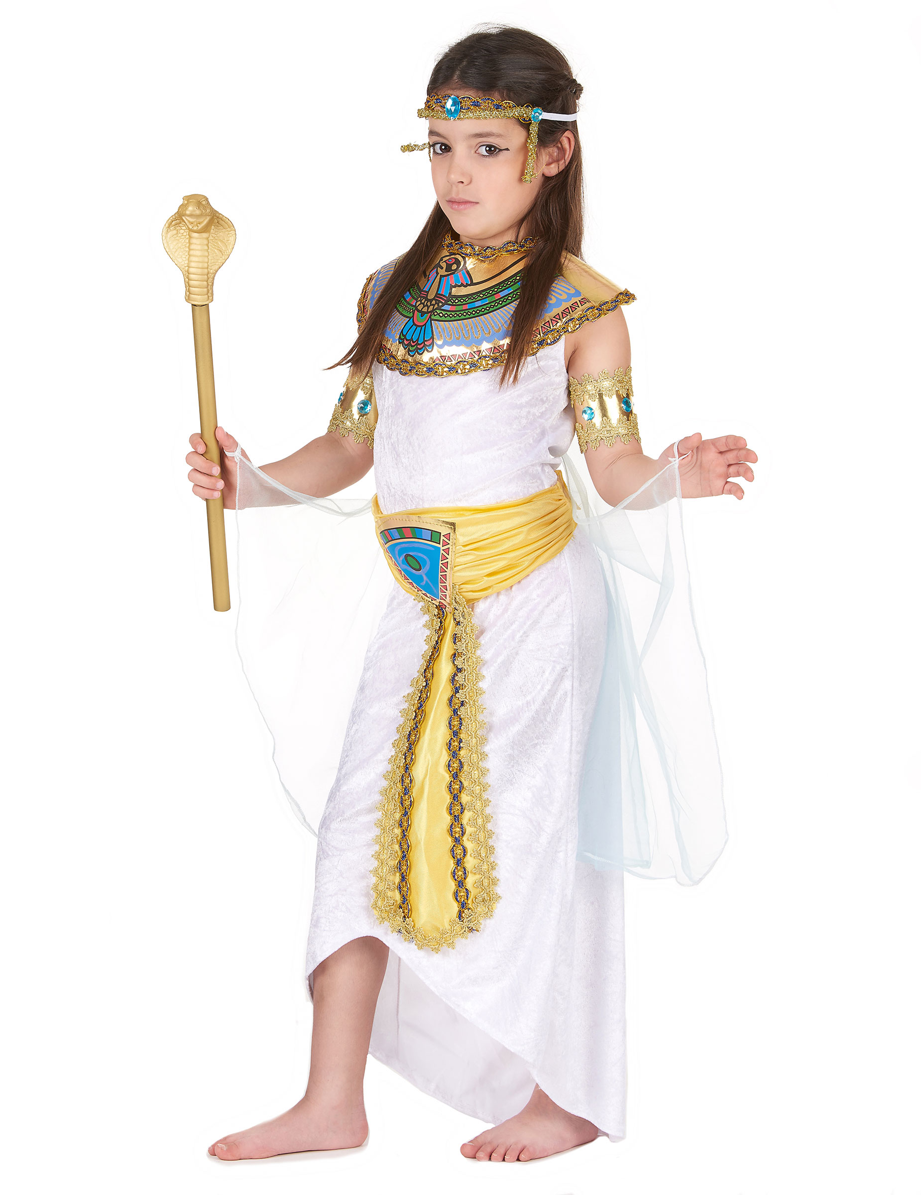 f04edd5d9 Disfarce de egípcia para menina  Disfarces Crianças