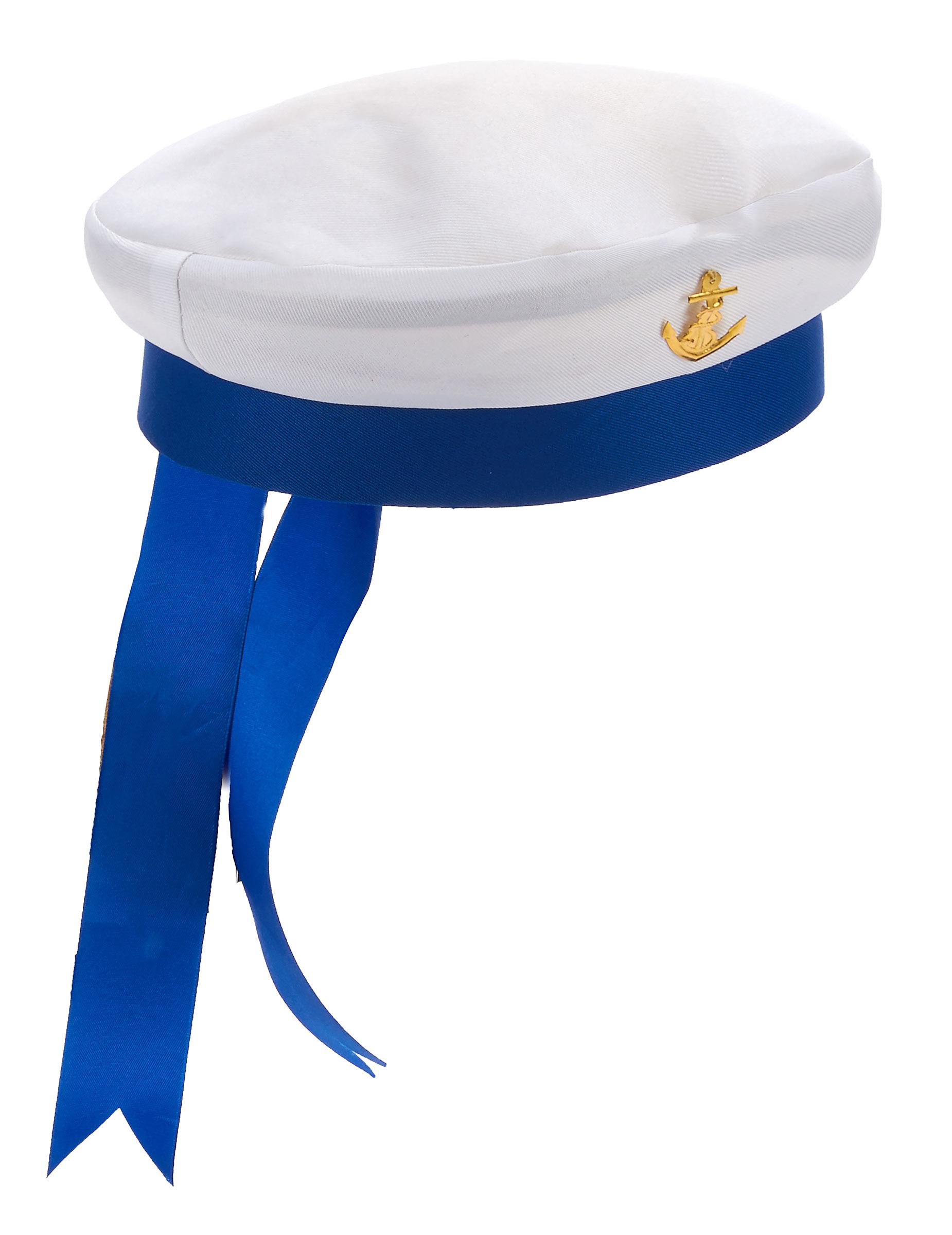 Chapéu marinheiro adulto com âncora  Chapéus e3e88d25a54