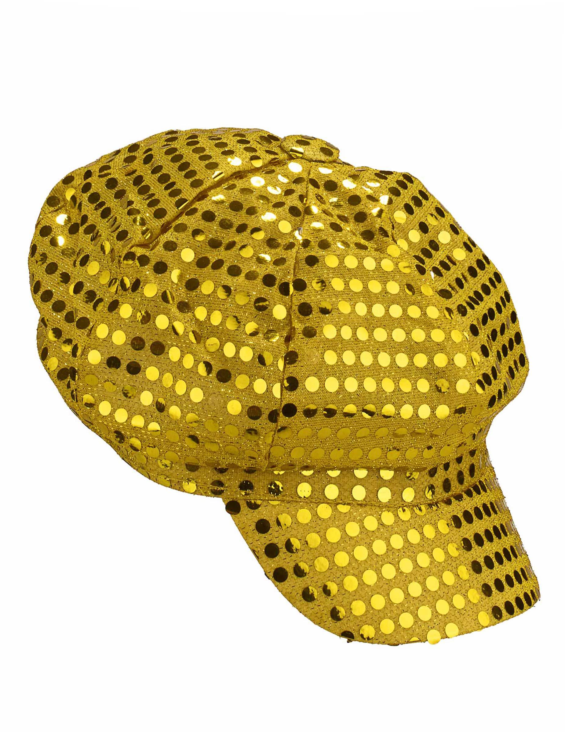 Boina dourada adulto  Chapéus 44d08446d04