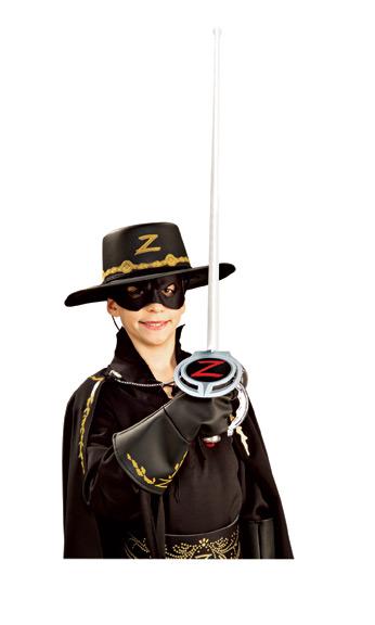 Kit acessórios Zorro™ criança  Disfarces Crianças e95e9762157
