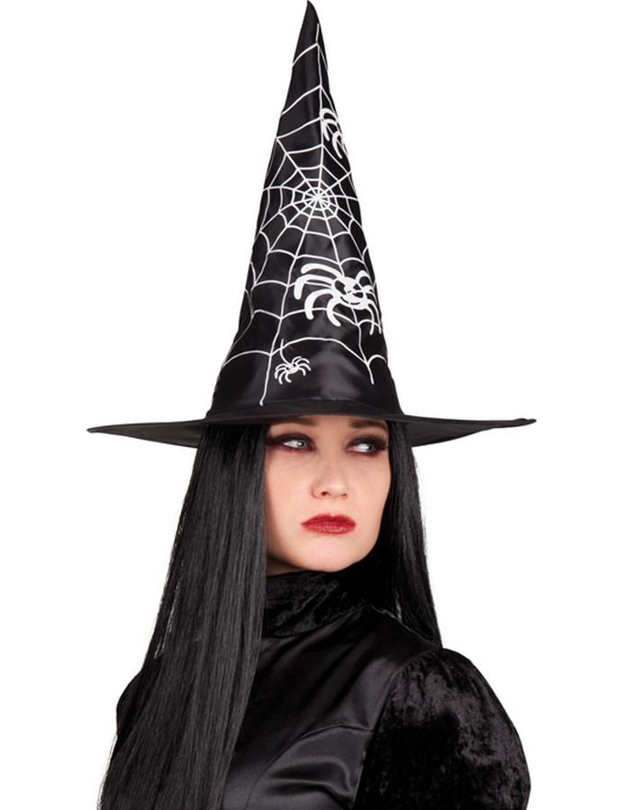 530cf9f1b9156 Chapéu de bruxa preto adulto Halloween  Chapéus