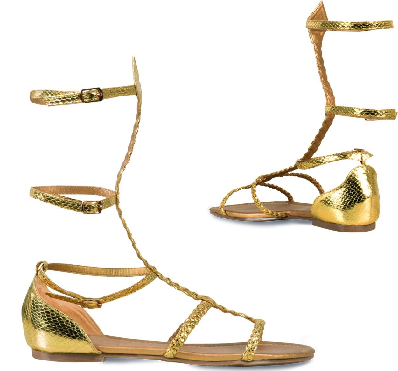 8c123f3fa Sandálias douradas para mulher: Acessórios,mascarilhas e fatos de carnaval  - Vegaoo