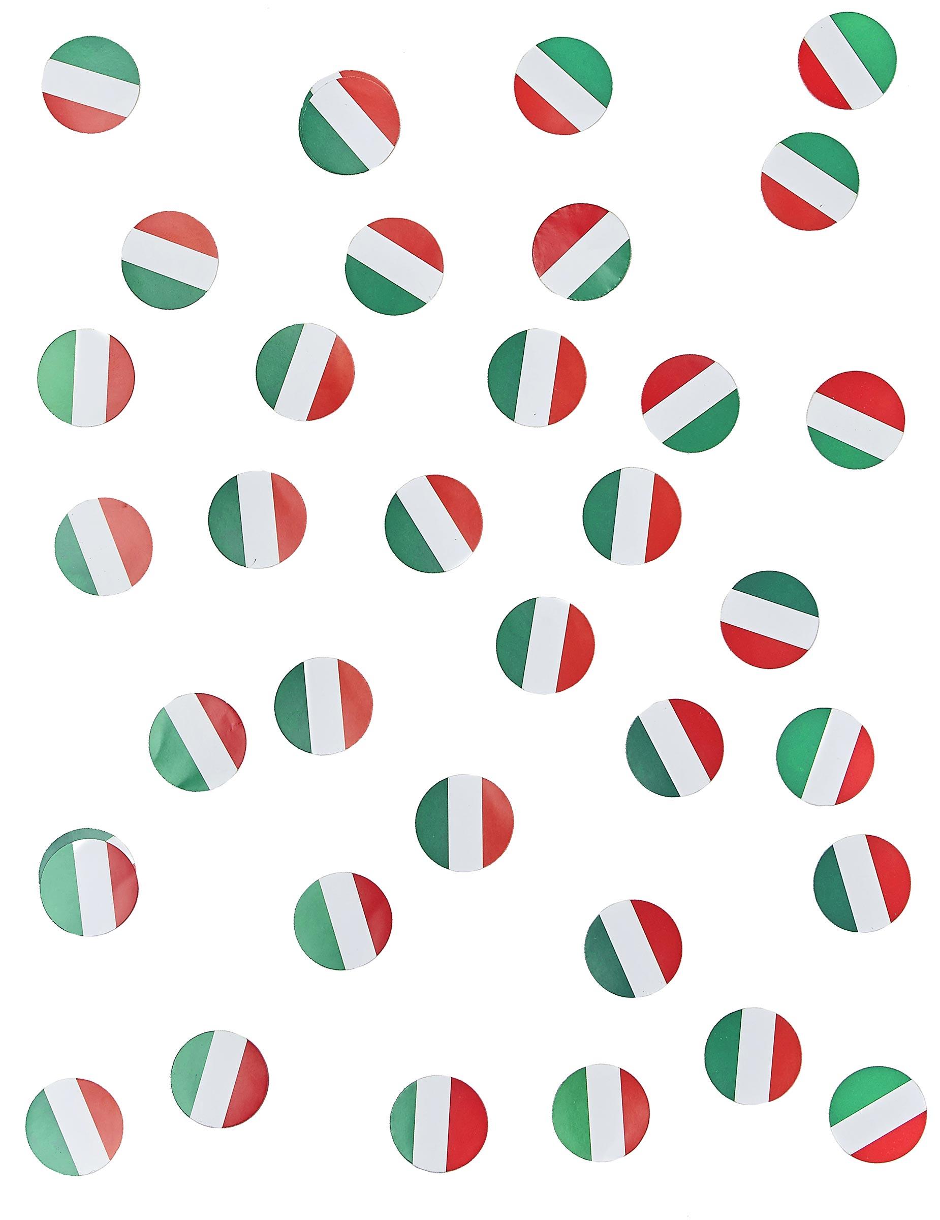 150 confetis de mesa bandeira Itália  Decoração   Animação ... 93e80bca9eb4a
