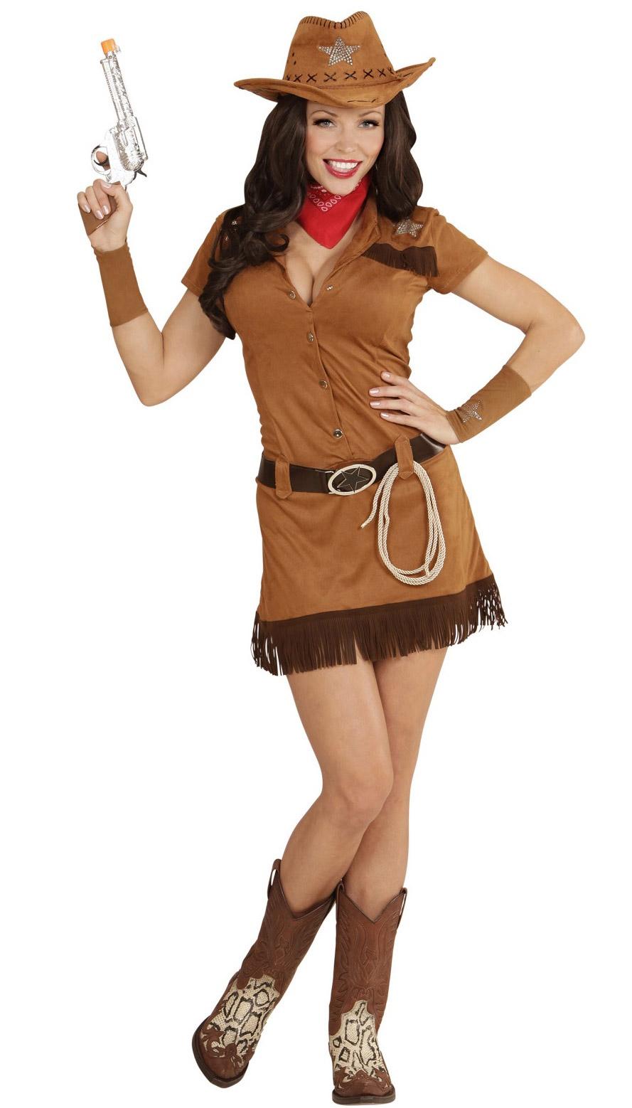 Disfarce de Cowgirl do Oeste para mulher  Disfarces Adultos ... e14b9e91158
