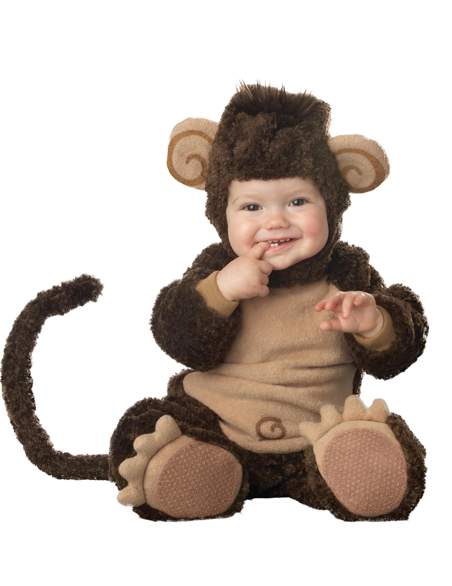 Disfarce Premium de macaco para bébé  Disfarces Crianças be035195974