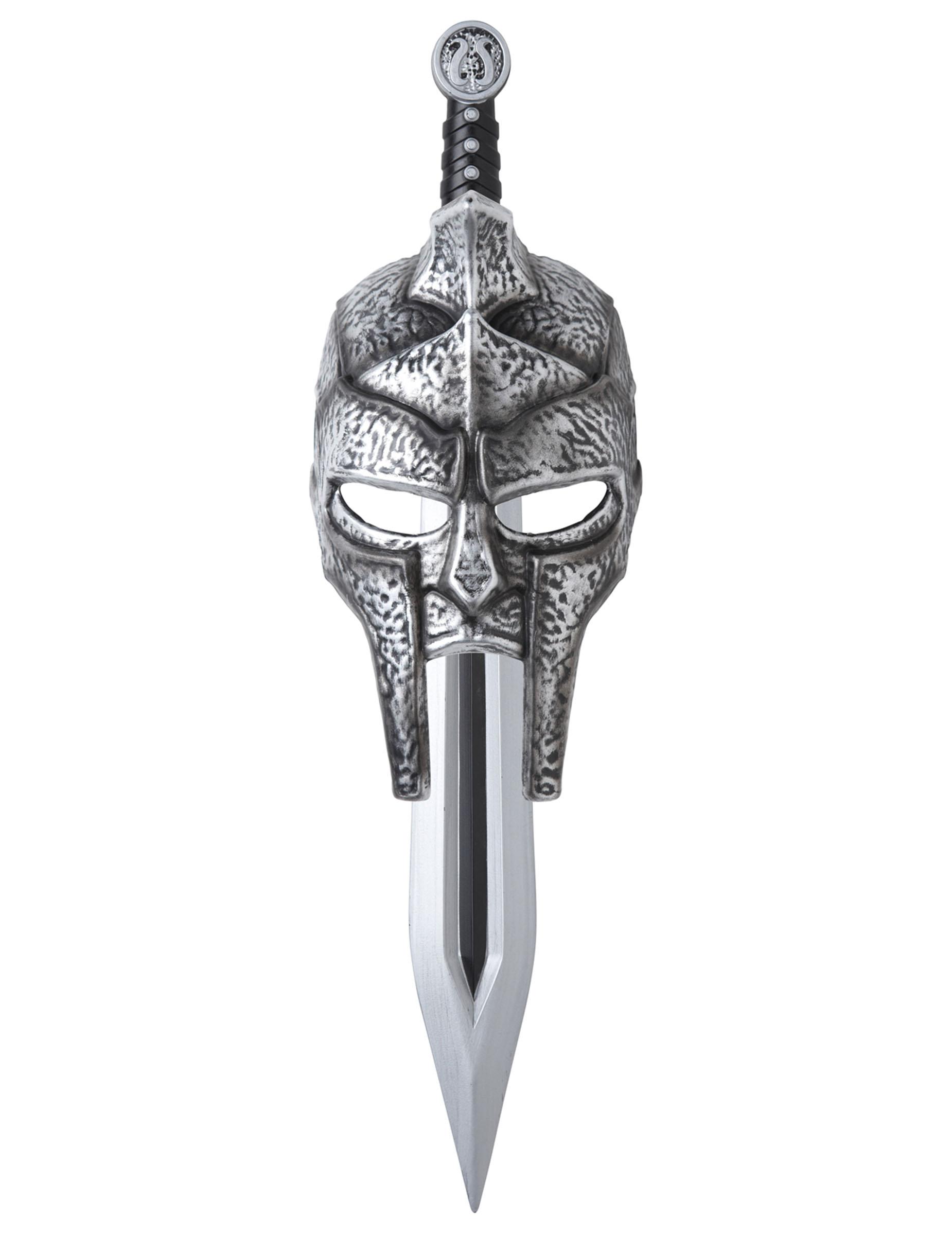 Máscara e Espada de Gladiador para adulto  Acessórios,mascarilhas e fatos  de carnaval - Vegaoo d387ca93bd
