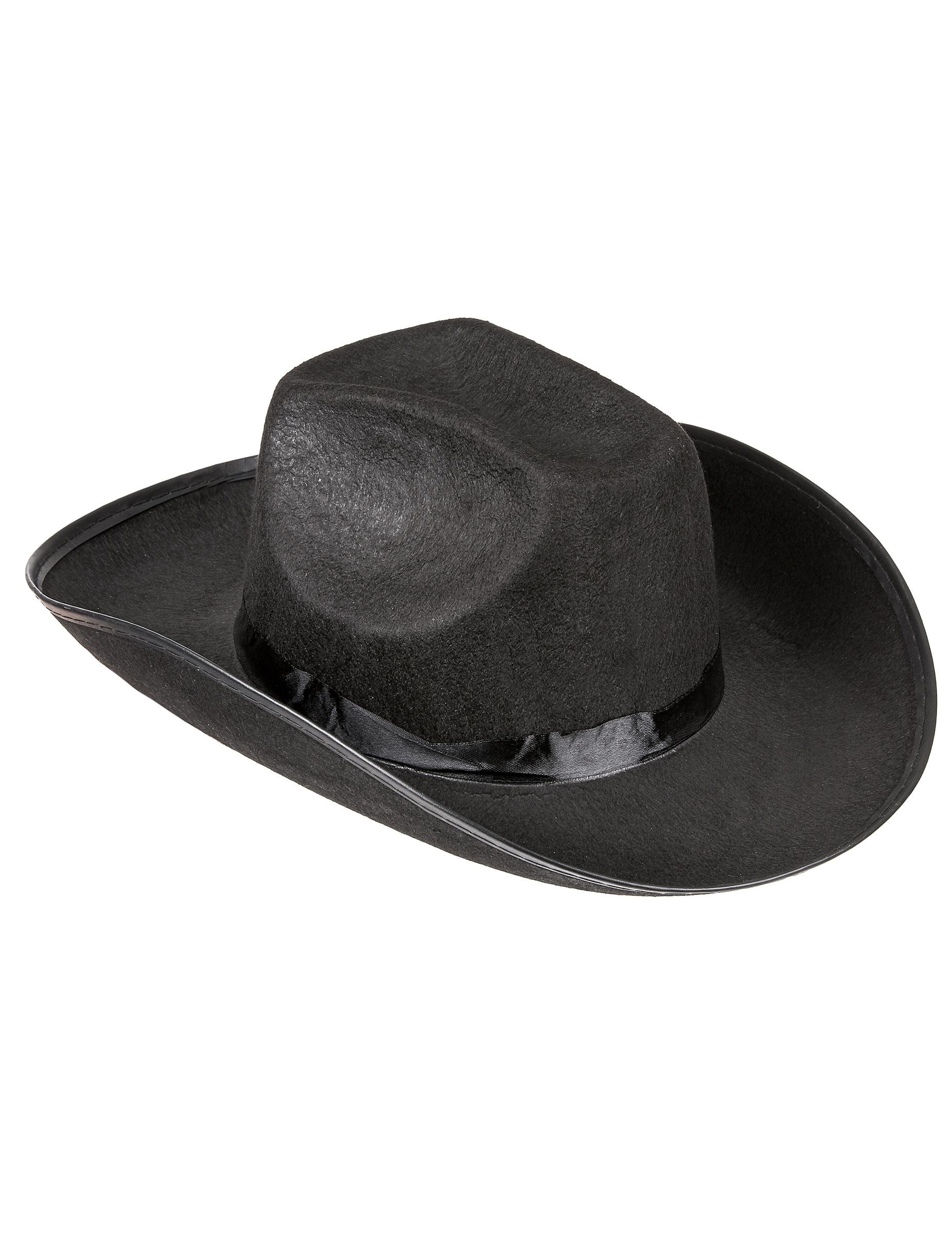 790140f30e86c chapéu de cowboy preto para adulto  Chapéus