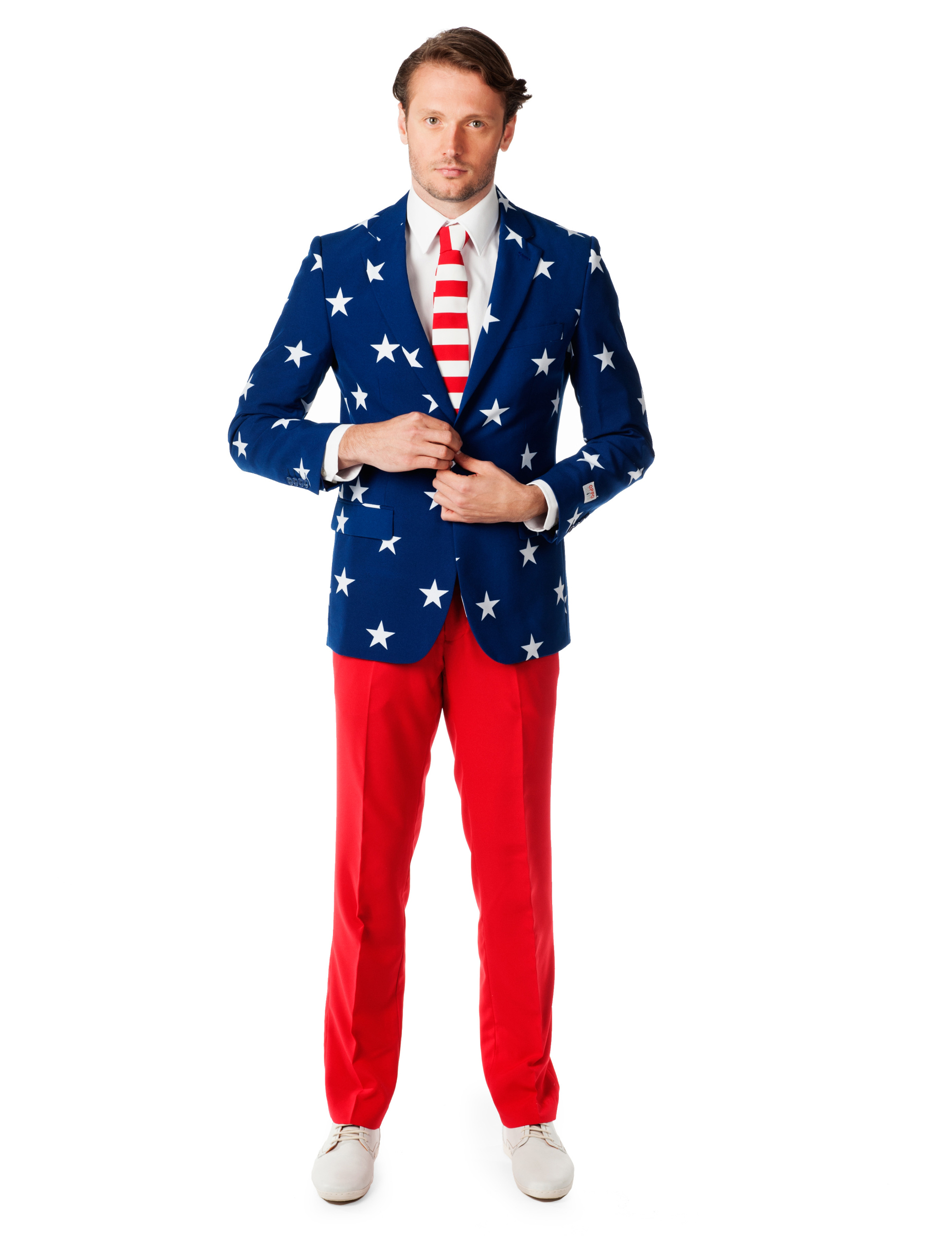 Fato Mr. USA Opposuits™  Disfarces Adultos b932628d06e