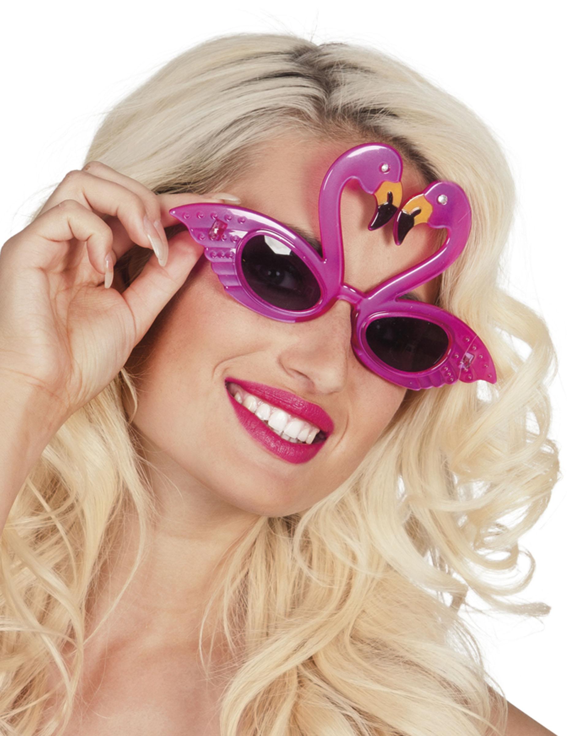 Oculos Flamingo rosa adulto  Acessórios,mascarilhas e fatos de ... 34440d2a4e
