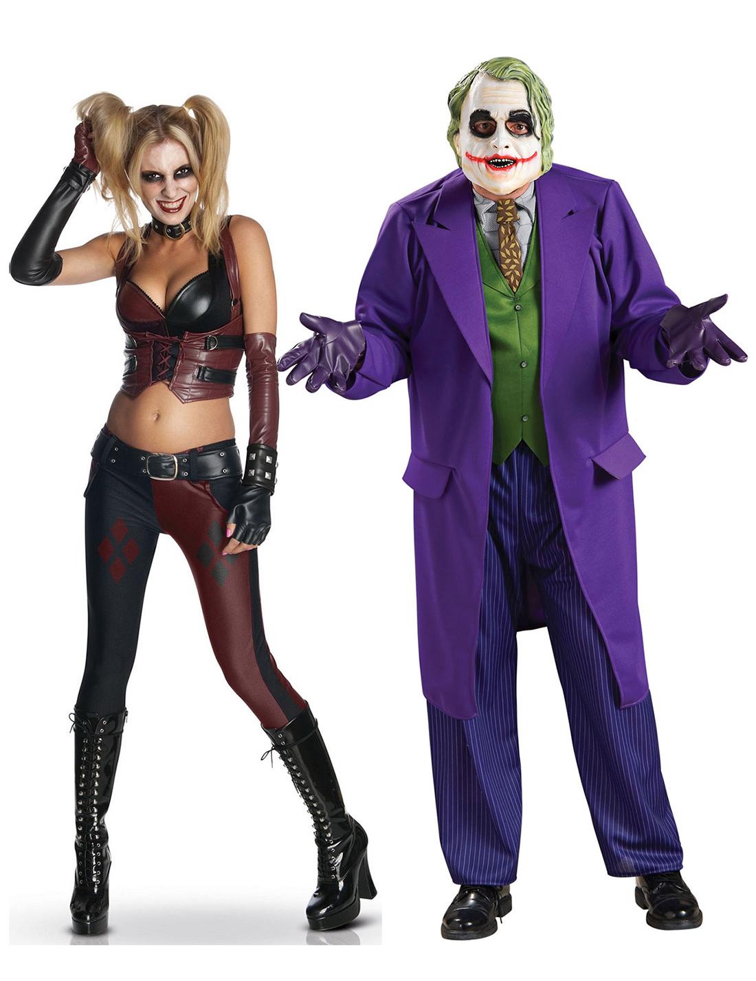 Uitgelezene Disfarce de casal Harley Quinn e Joker™: Disfarces para Casal TS-97