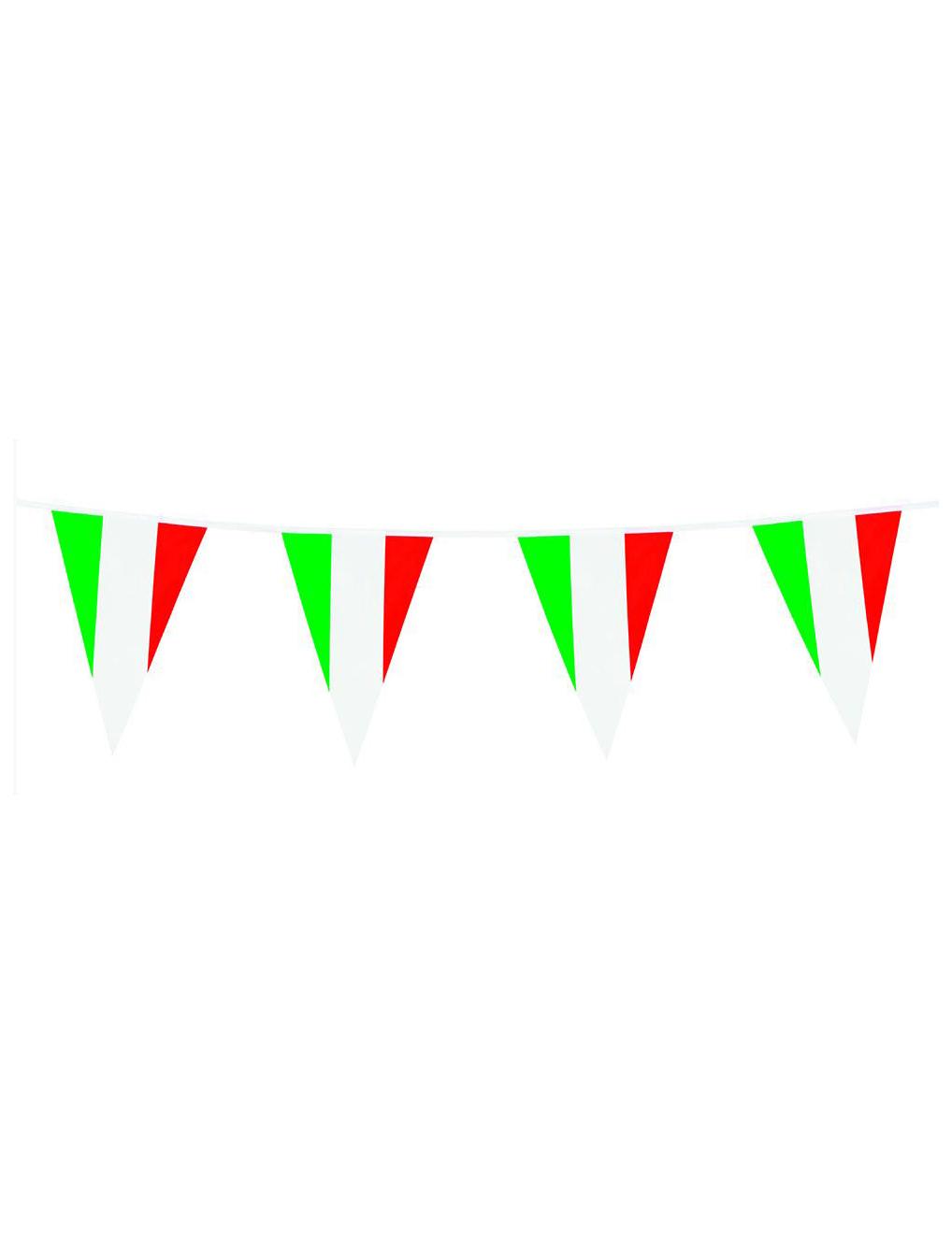 Grinalda bandeiras Itália 10 m  Decoração   Animação 0c21233b7d53d