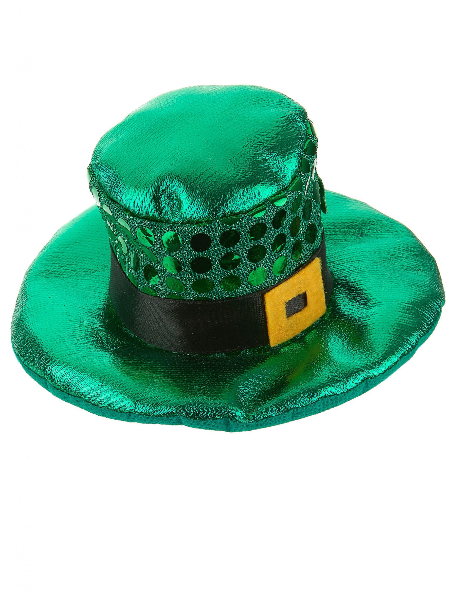 c5f670cf5153c Mini chapéu verde São Patrício adulto  Acessórios