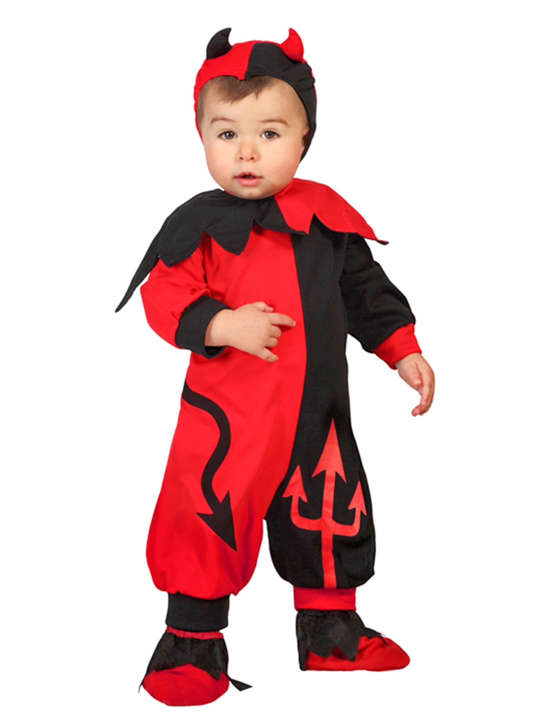 e82fb6573 Disfarce bébé diabo menino Halloween  Disfarces Crianças