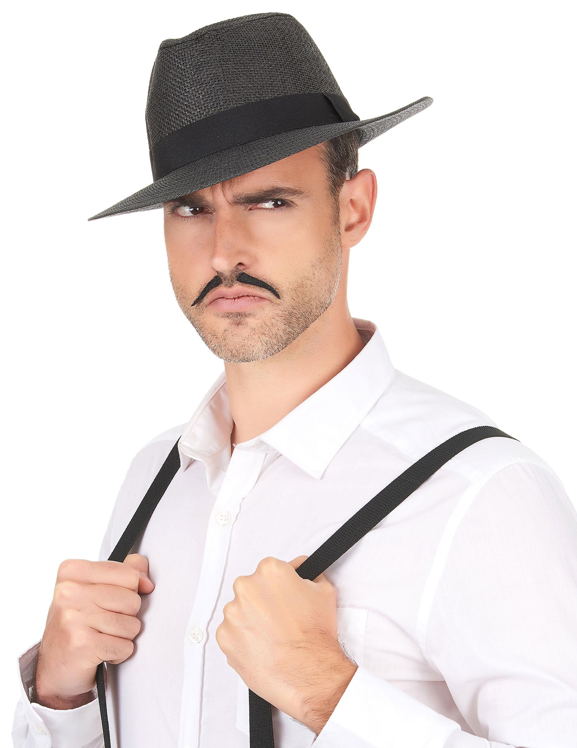 bf48bb8930 Chapéu Panamá cinza - adulto: Chapéus,mascarilhas e fatos de ...