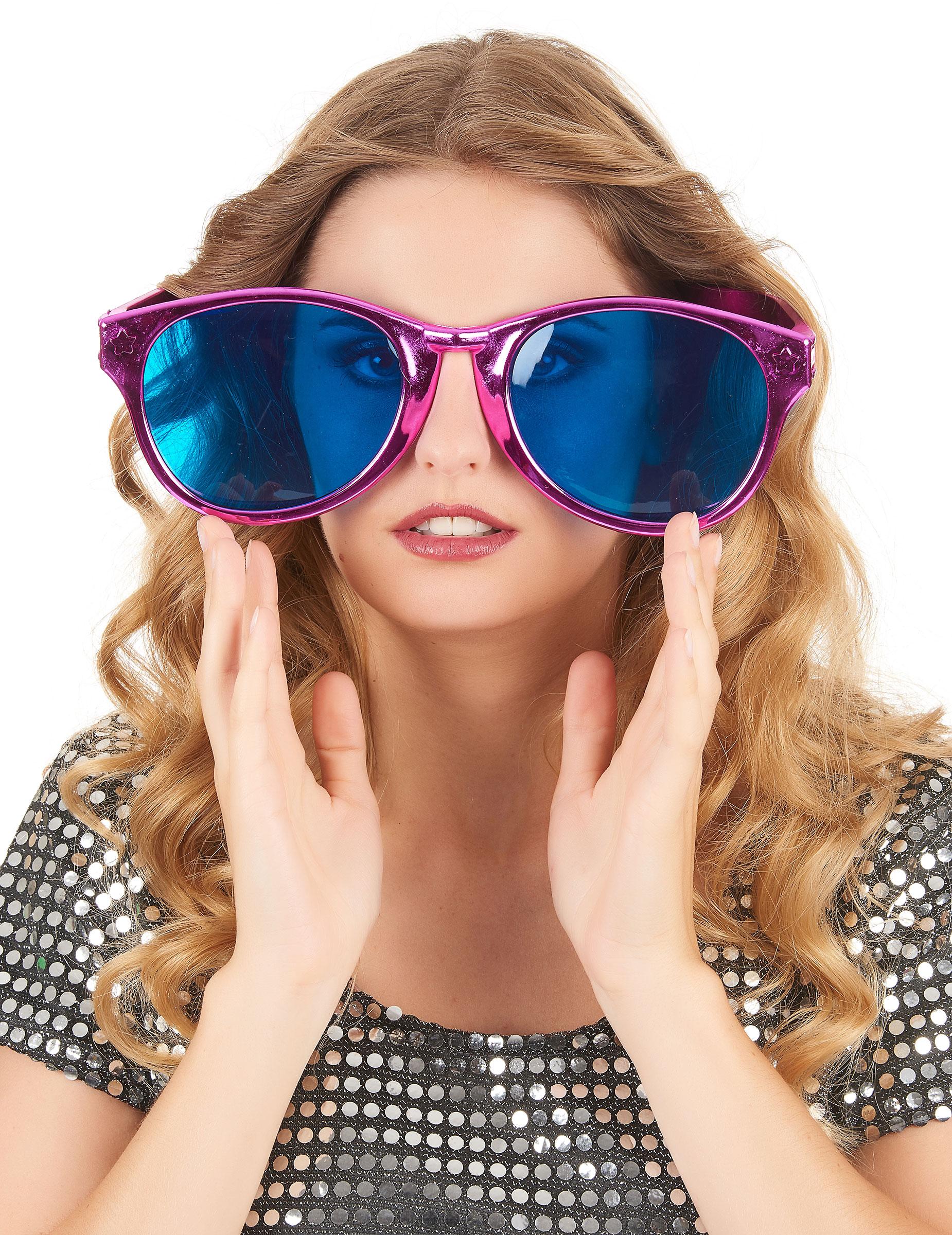 Óculos gigantes cor-de-rosa adulto  Acessórios,mascarilhas e fatos ... 17c7ee27b7