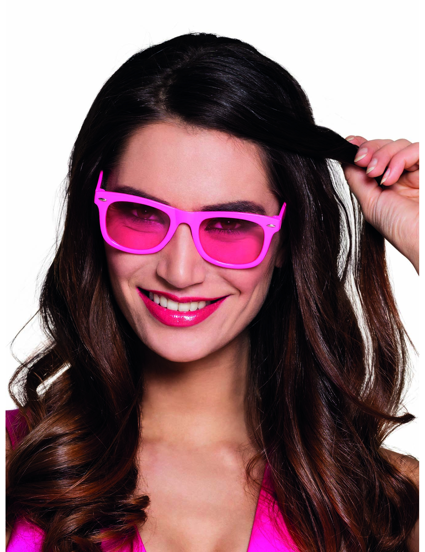 Óculos cor-de-rosa fluo anos 80  adulto  Acessórios,mascarilhas e ... f4441fa230