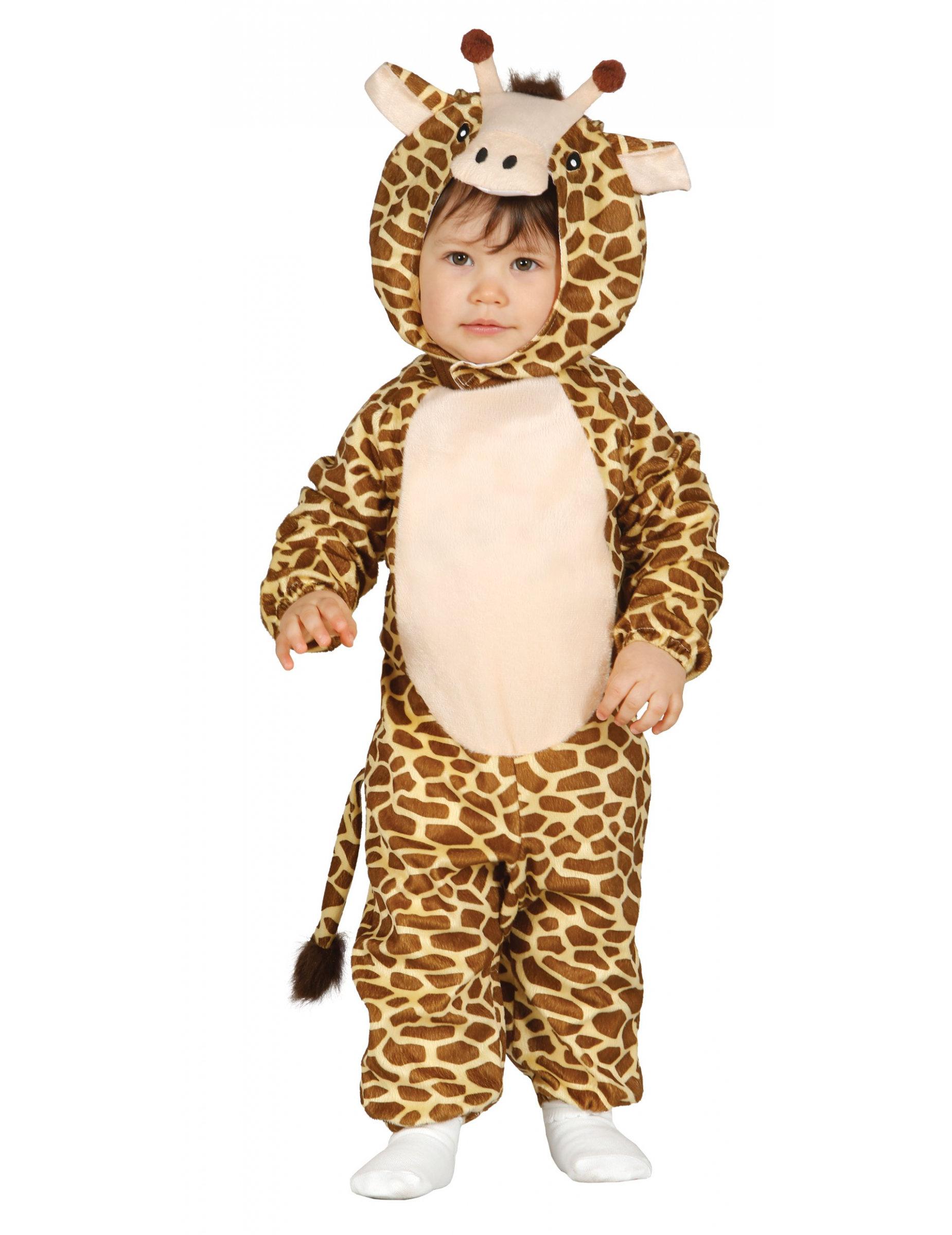 Disfarce girafa para bébé  Disfarces Crianças ba10cab1746