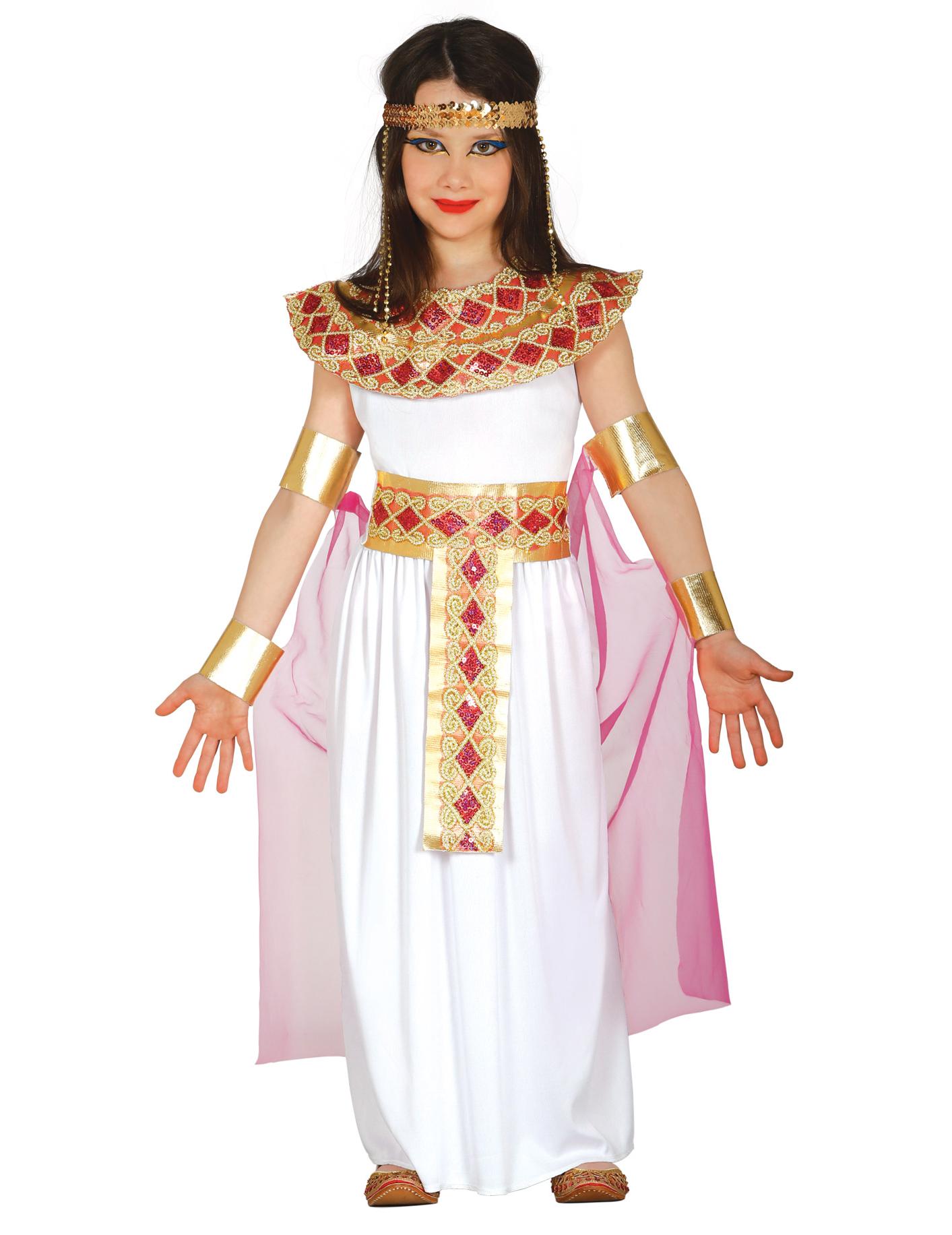 12d1c7950 Disfarce Egípcia cor-de-rosa e dourado menina  Disfarces Crianças ...