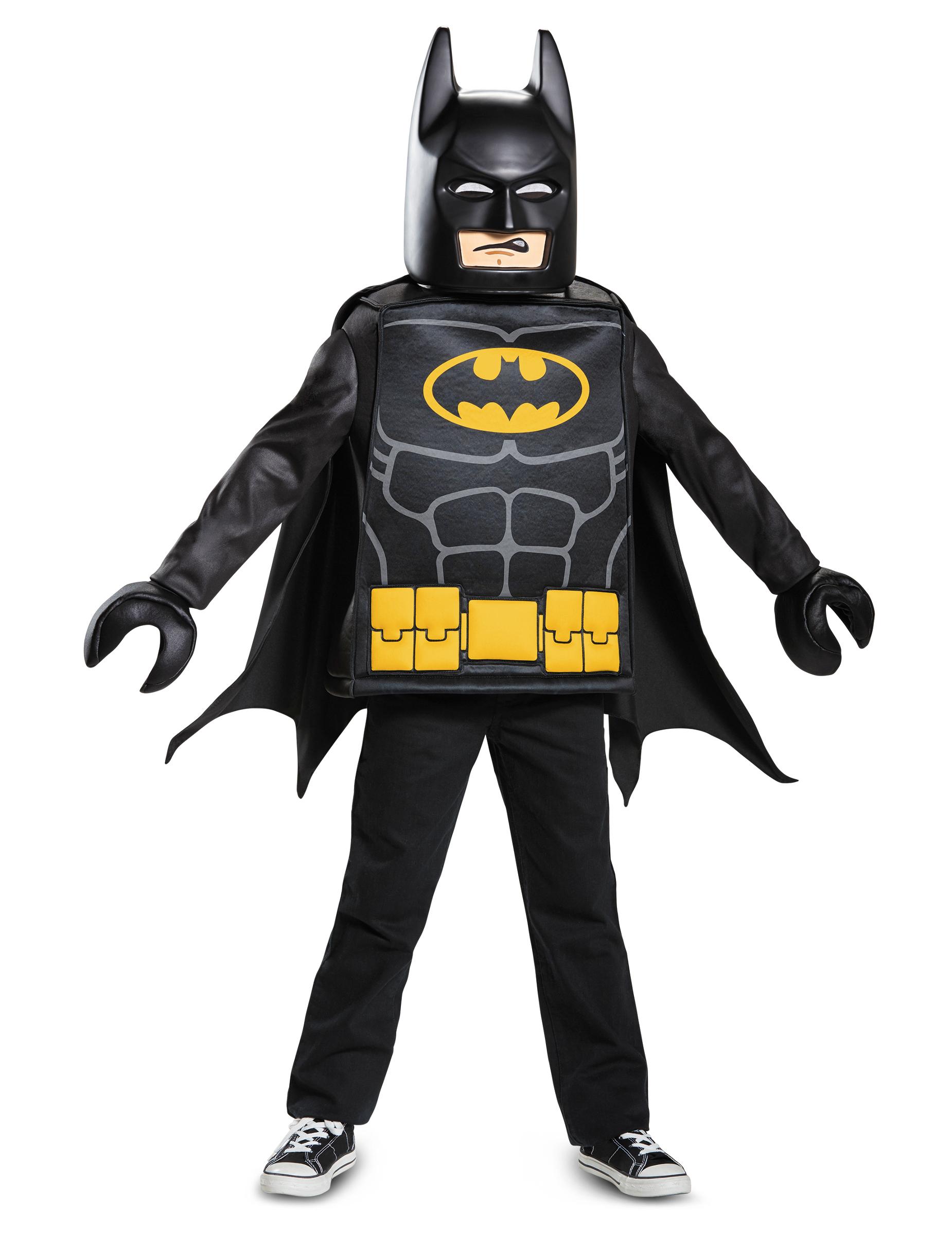 disfarce clássico batman lego movie criança disfarces crianças