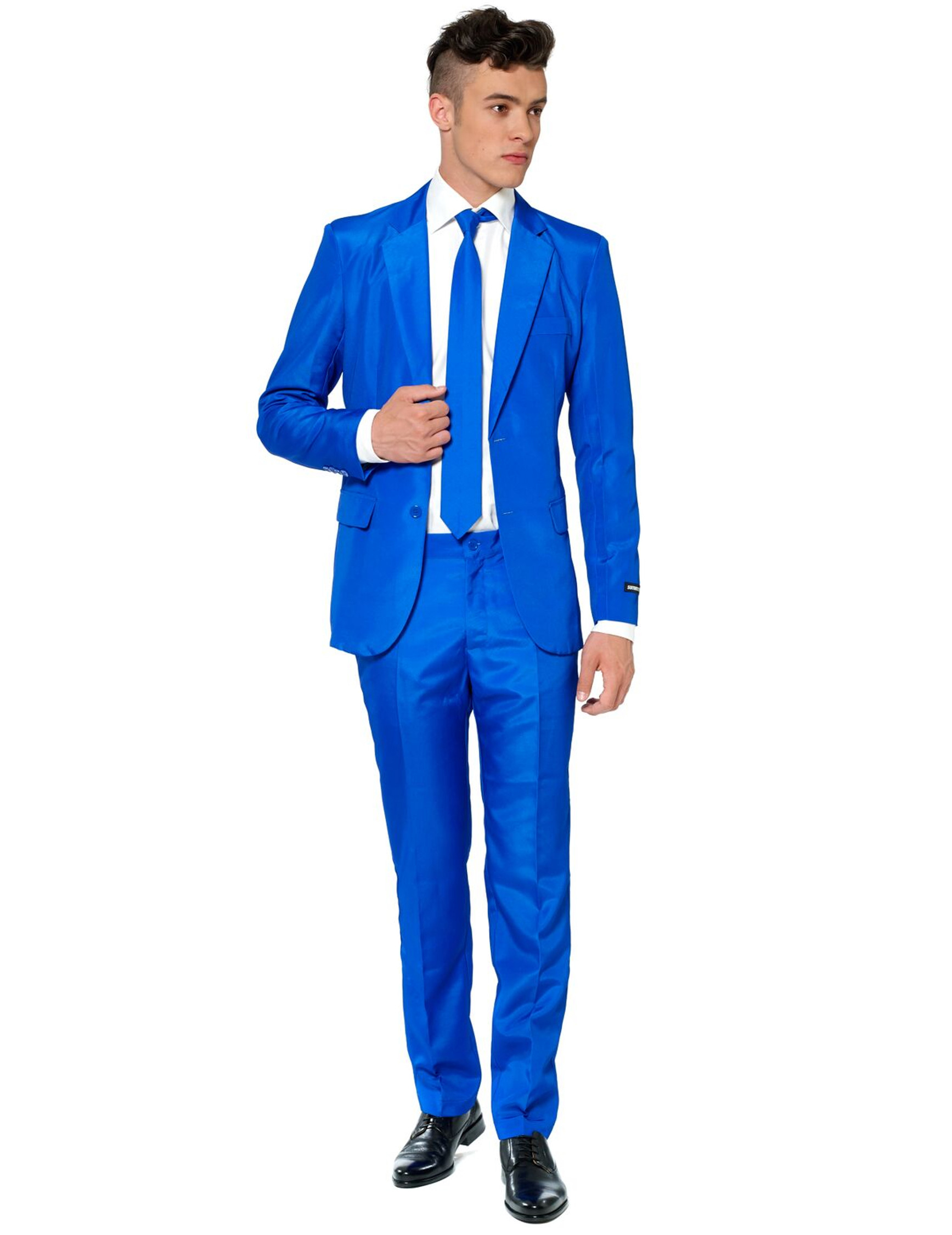 Fato Mr. Solid azul homem Suitmeister™