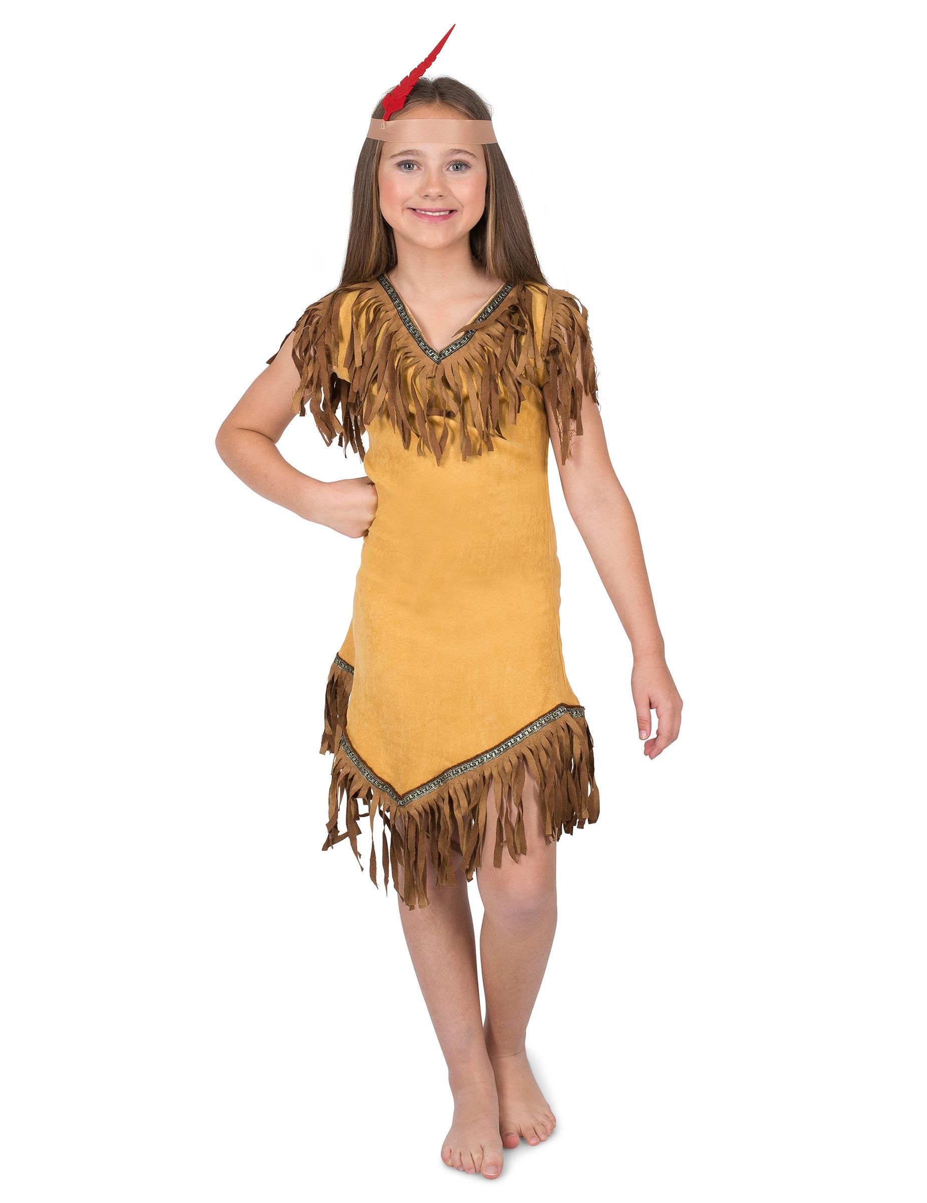d147e55d9 Disfarces Crianças Western índios e fatos de carnaval menina e ...