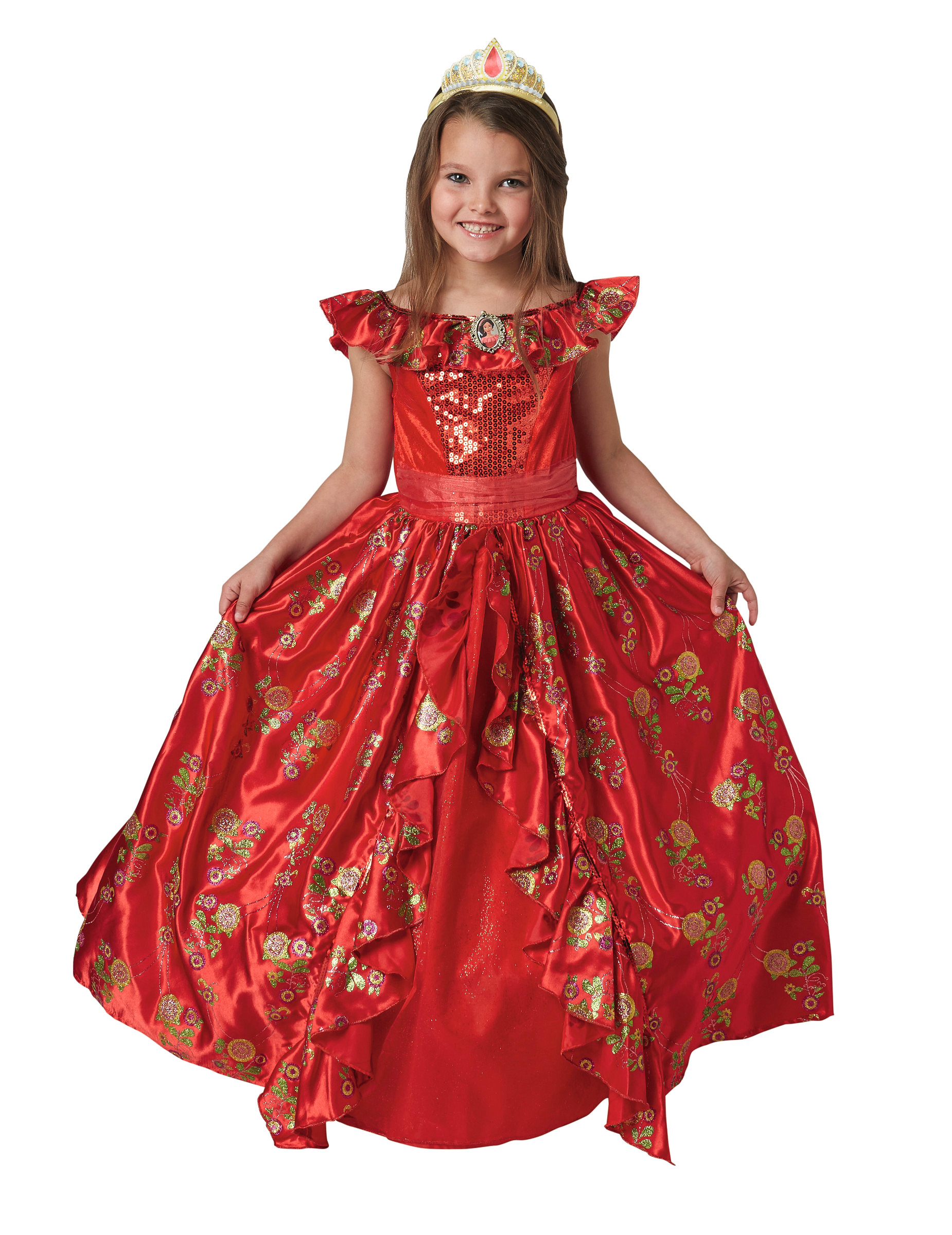 Disfarce Vestido De Baile Elena De Avalor Menina Disfarces