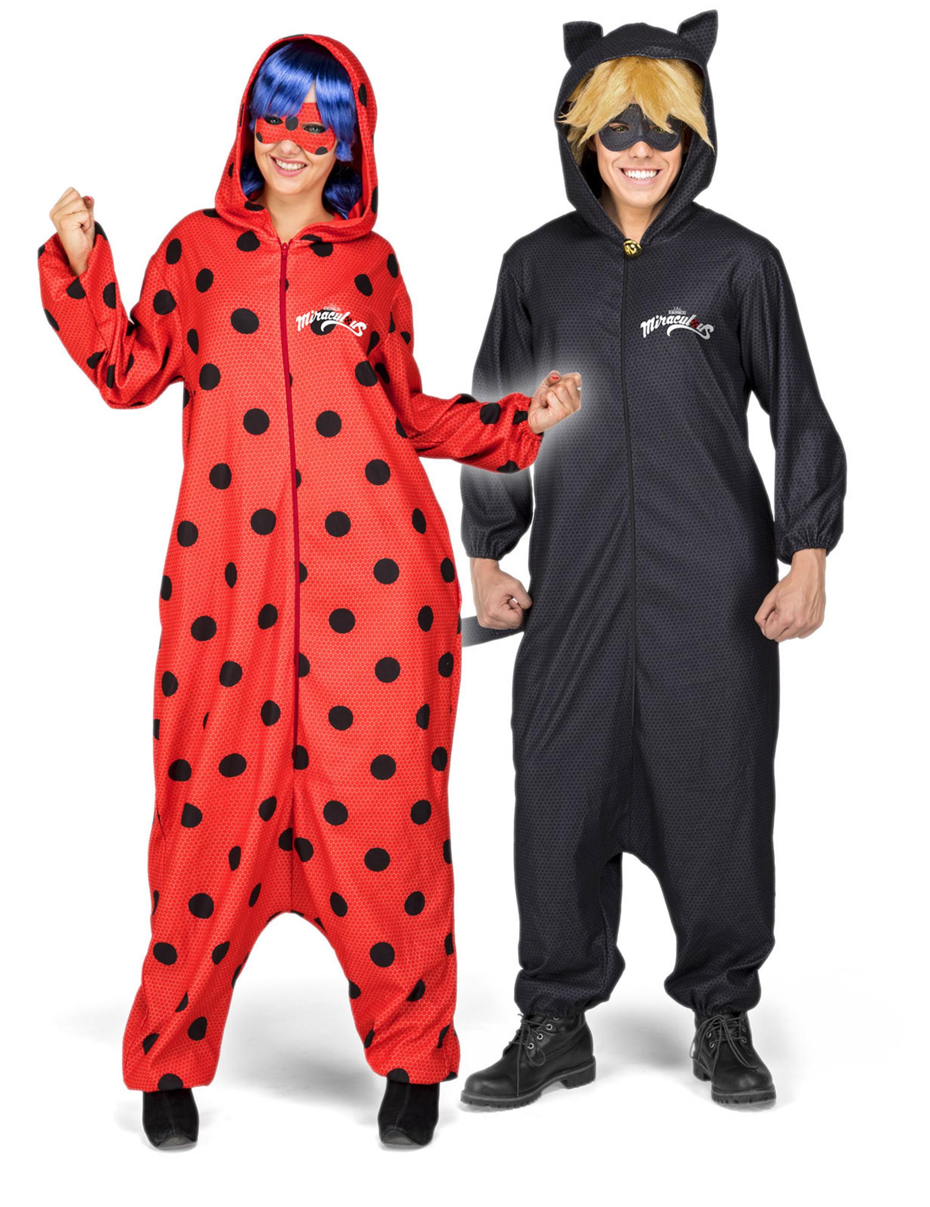 43a5cfff5a8afc Disfarce macacão Ladybug™ adulto e acessórios