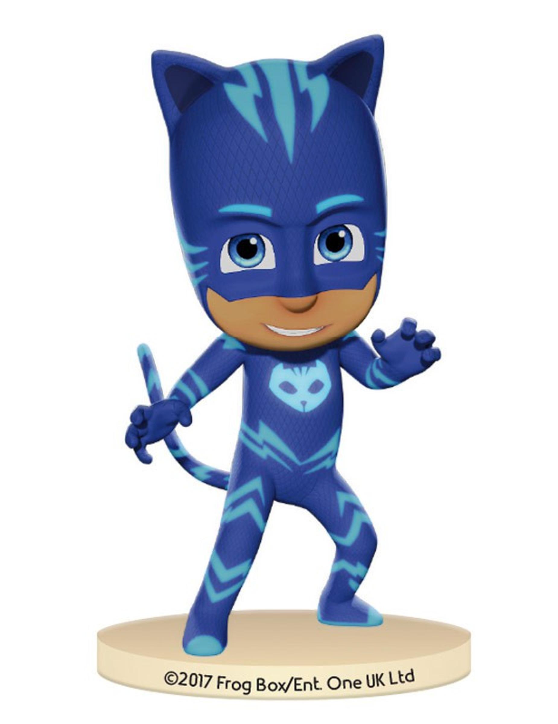 boneco de pl stico pj masks catboy decora o anima o mascarilhas e fatos de carnaval vegaoo. Black Bedroom Furniture Sets. Home Design Ideas