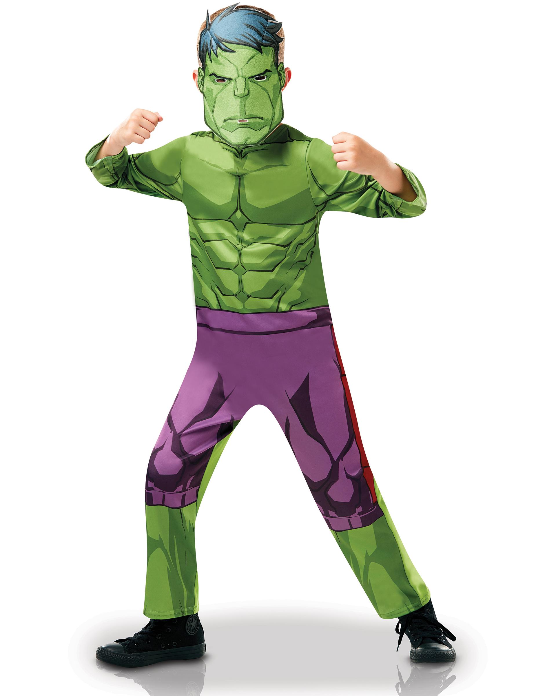 Disfarce Classico Hulk Desenho Animado Menino Disfarces Criancas
