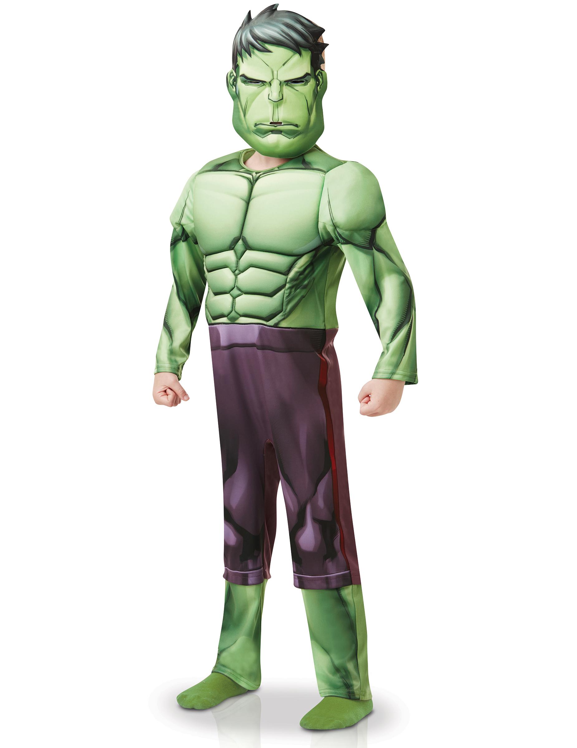 Disfarce Luxo Hulk Desenho Animado Menino Disfarces Criancas