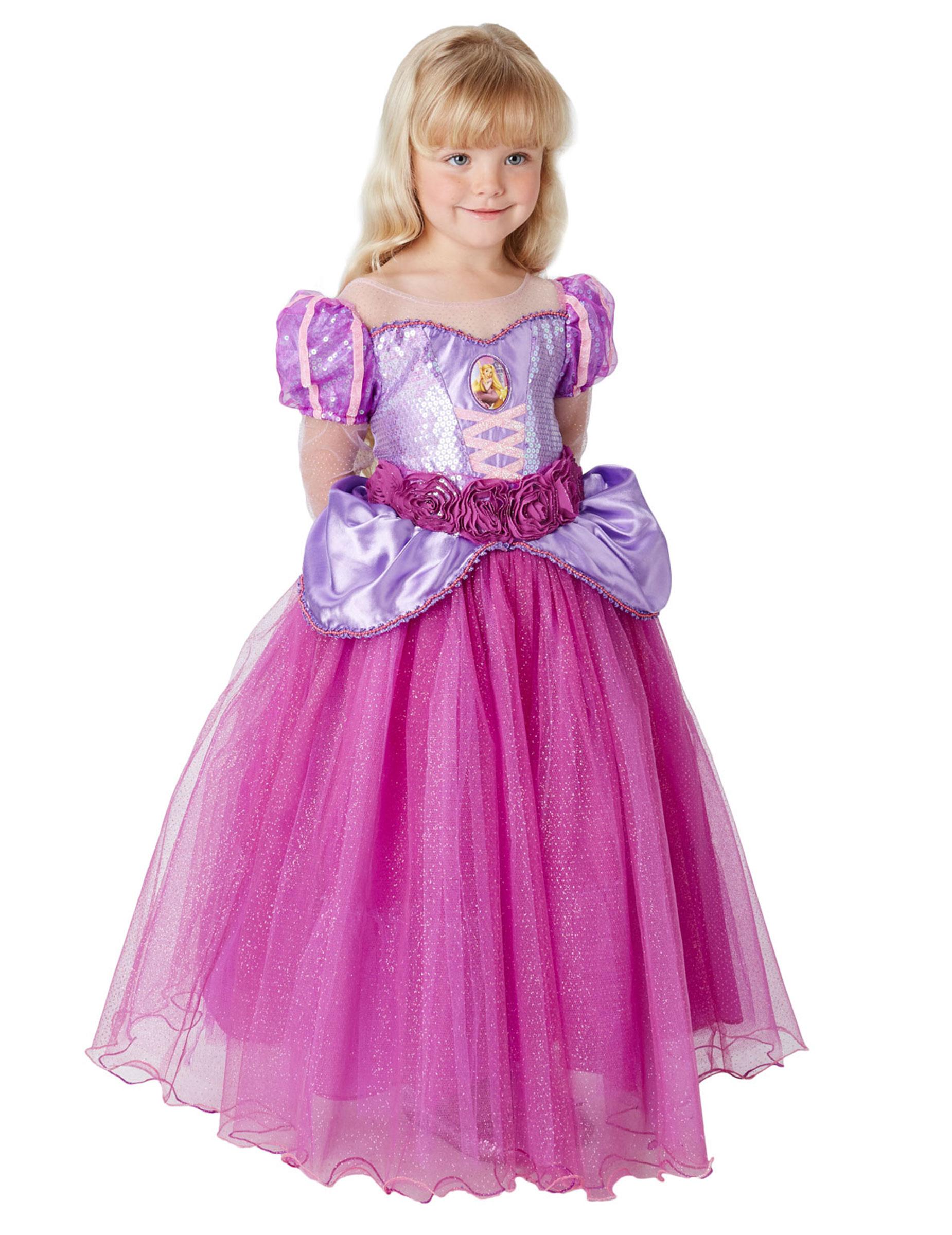 Fato Princesa Rapunzel Premium Disney | Loja da Criança