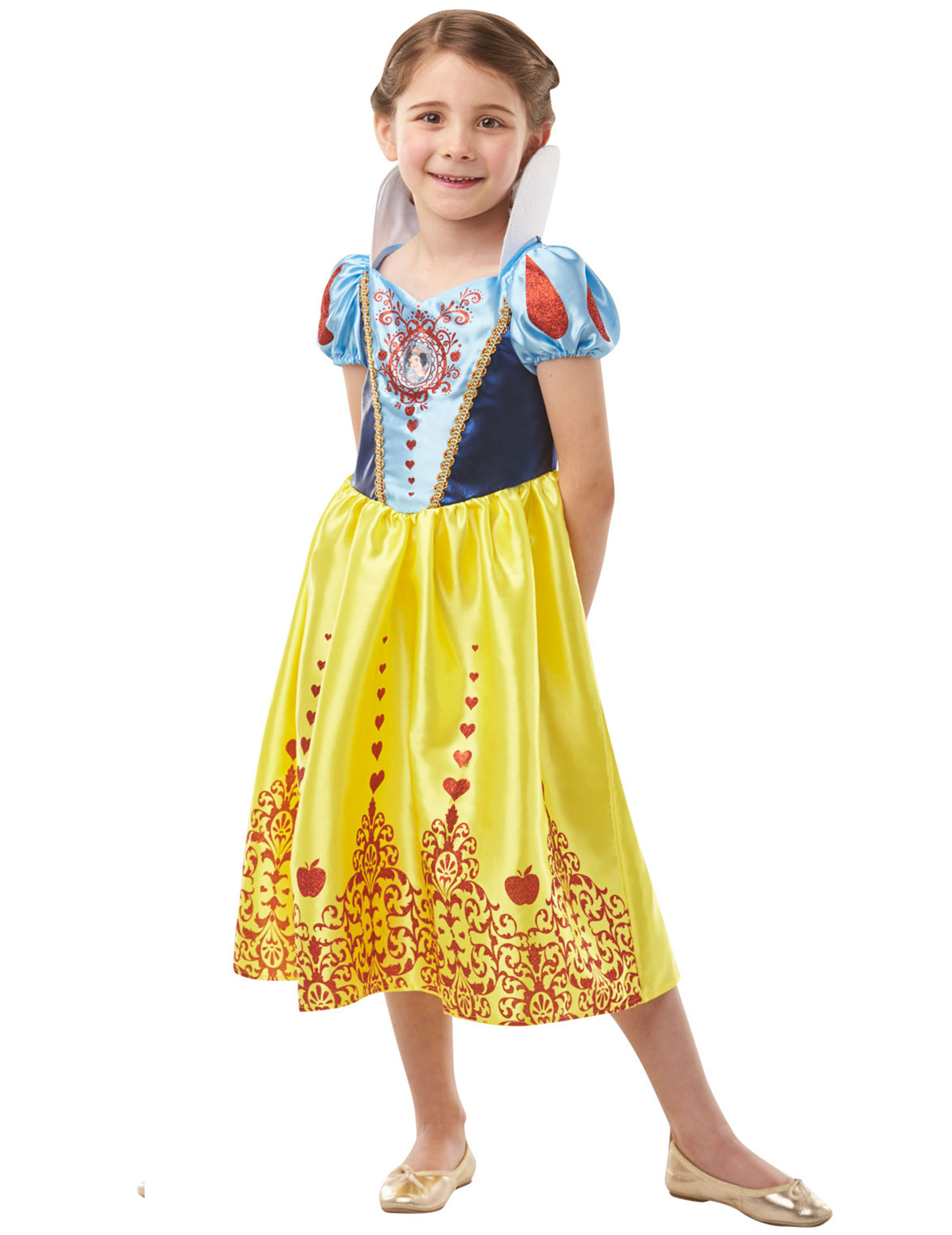 Disfarce Princesa Branca De Neve Menina Disfarces Criancas