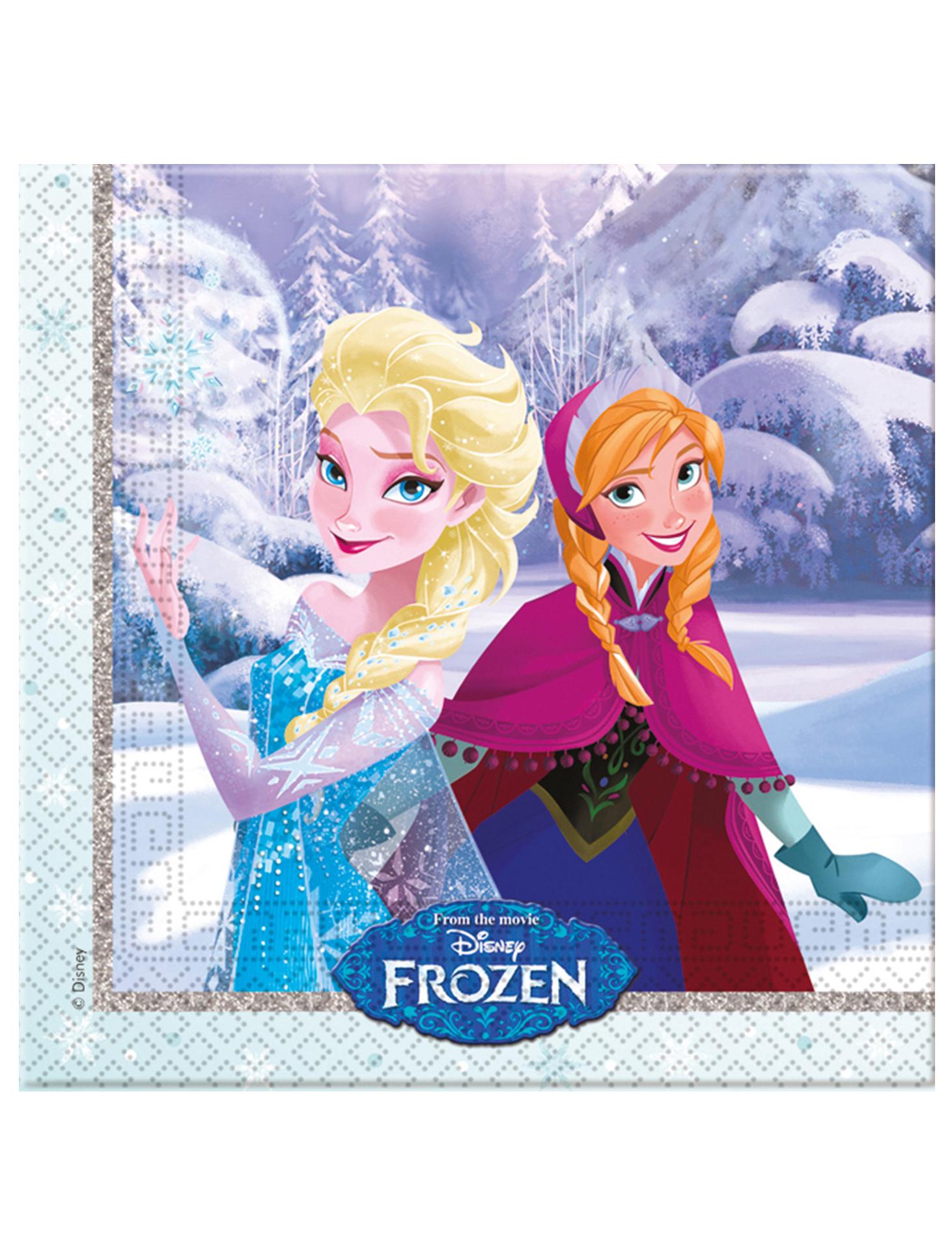 Frozen 20 servilleta 33cm