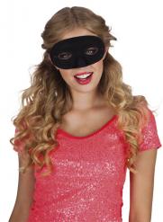 Máscara preta adulto