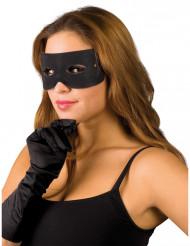 Máscara de bandido para adulto