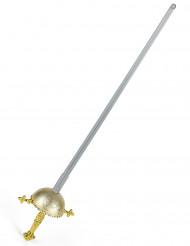 Espada c/ punho arredondado de espadachim