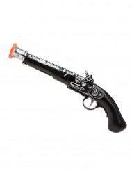 Pistola de pirata criança de plástico