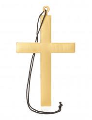 Cruz de monge dourada