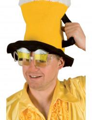 Óculos c/ canecas de cerveja para adulto (especial adeptos)