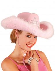 Chapéu de cowgirl para mulher